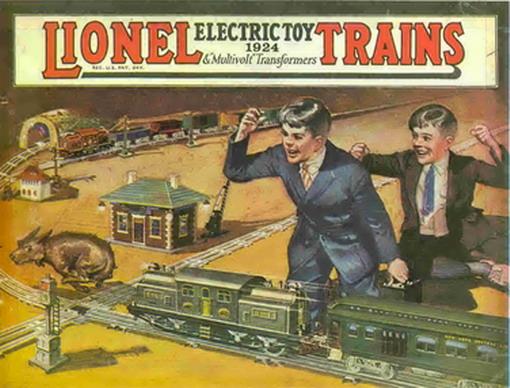 Lionel 1924 Catalog Cover