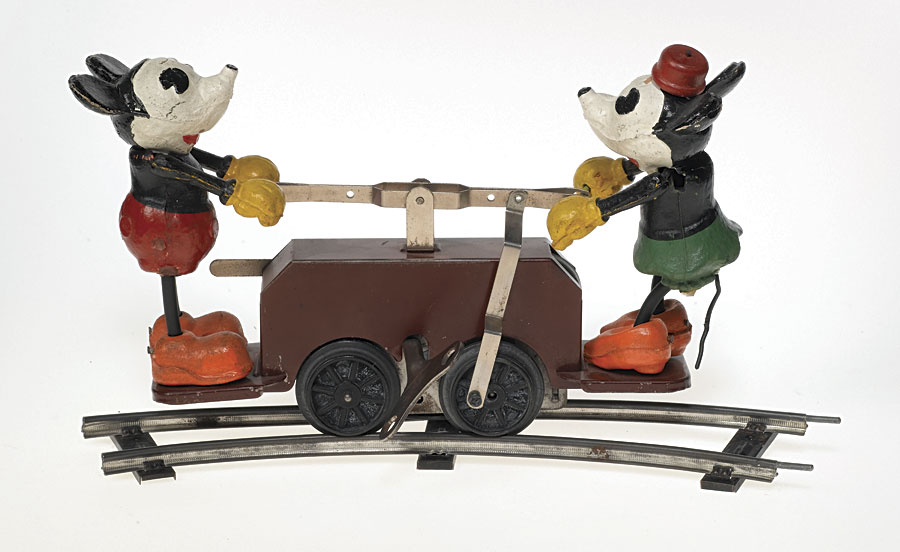 Lionel Mickey Mouse Handcar
