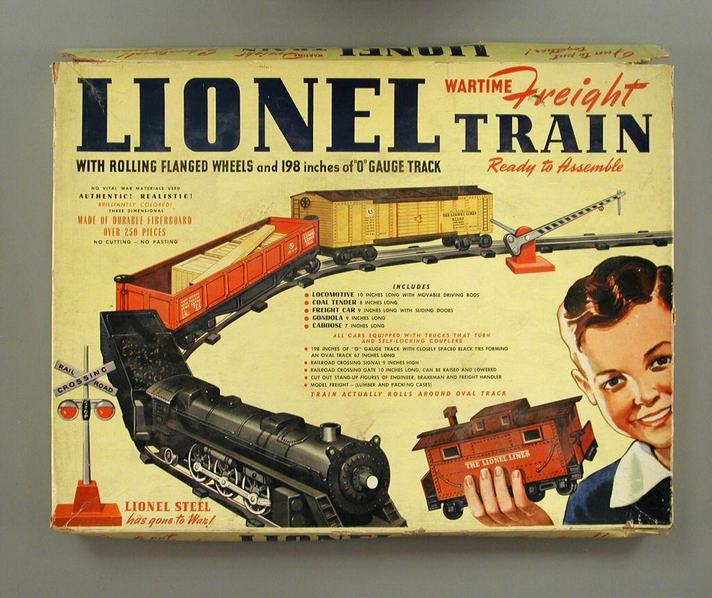 Lionel Paper Train