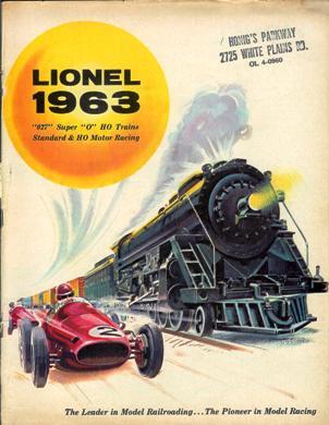 Lionel 1963 Catalog