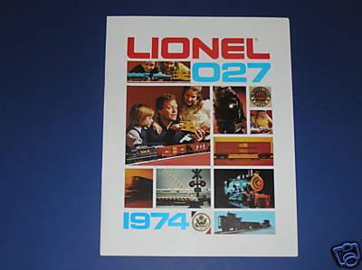 Lionel 1974 Catalog